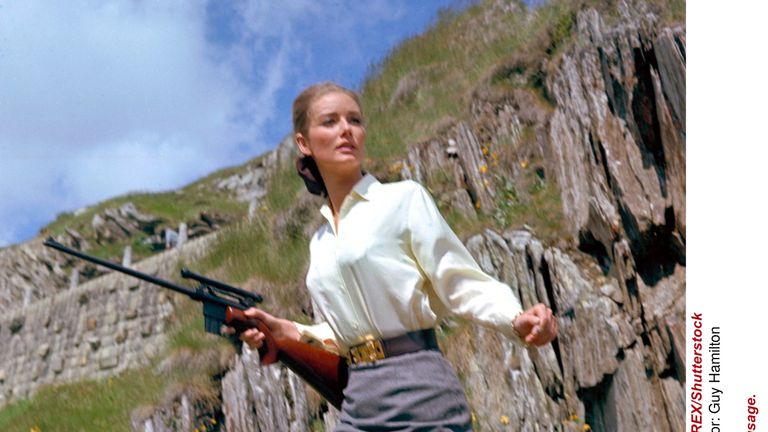 Bond girl Tania Mallet, who played Tilly Masterson in