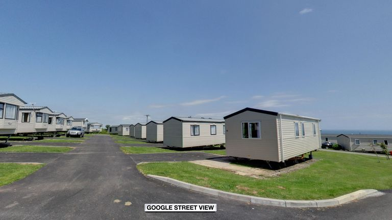 Police were called to the caravan park in the early hours
