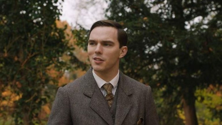 Nicholas Hoult stars as JRR Tolkien in the new film about the Lord of the Rings and Hobbit author's life