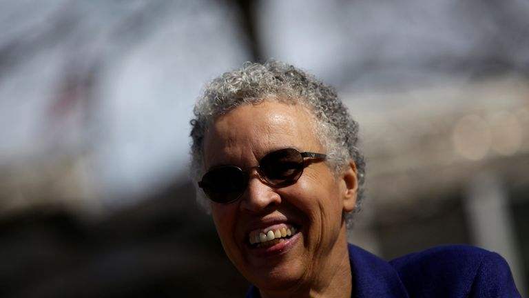 Toni Preckwinkle was also running for the top job