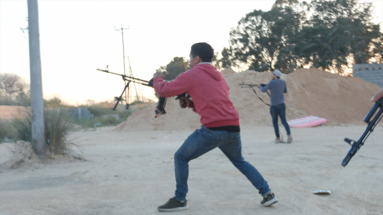 Fierce fighting has broken out in Tripoli