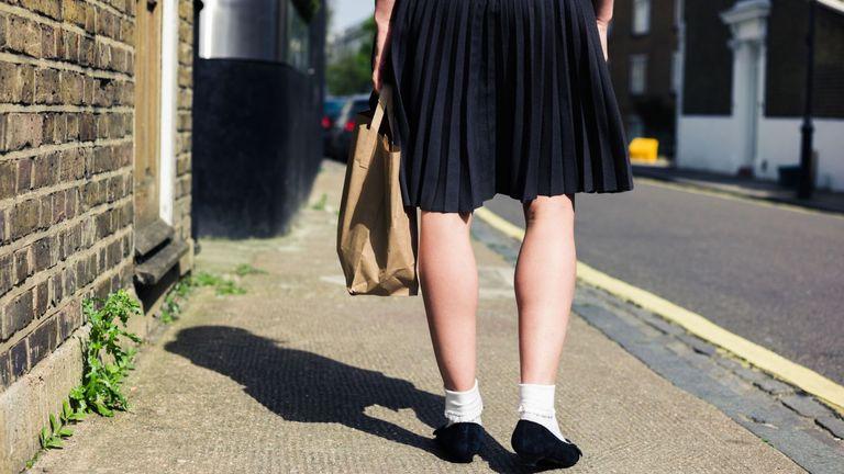 Children aged 11 are upskirting teachers, says union