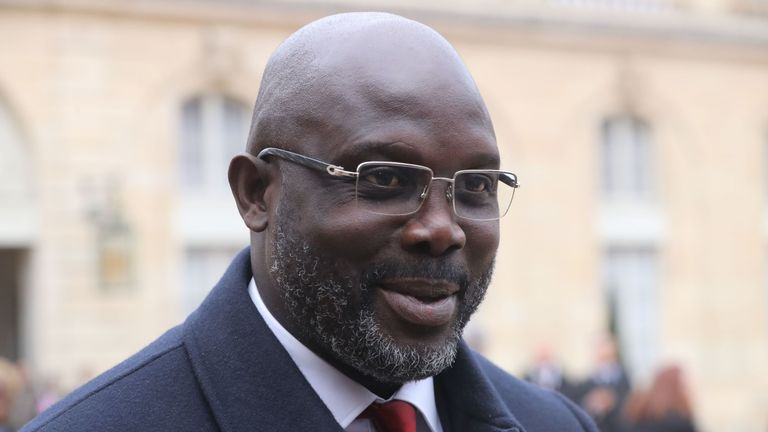 George Weah is now Liberia's president