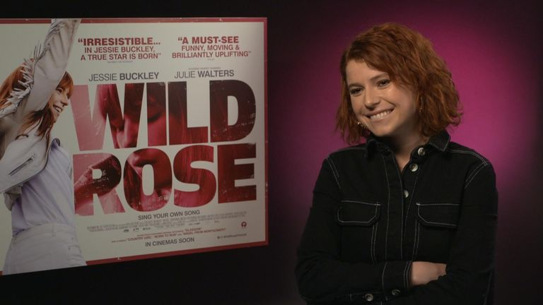 Jessie Buckley is a BAFTA Rising Star nominee whose new film, Wild Rose, is out at the end of this week.