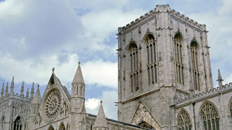 York Minster was almost destroyed by a fire in 1984