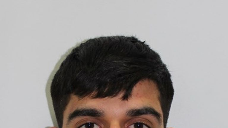 Zain Qaiser, 24, has been jailed for more than six years
