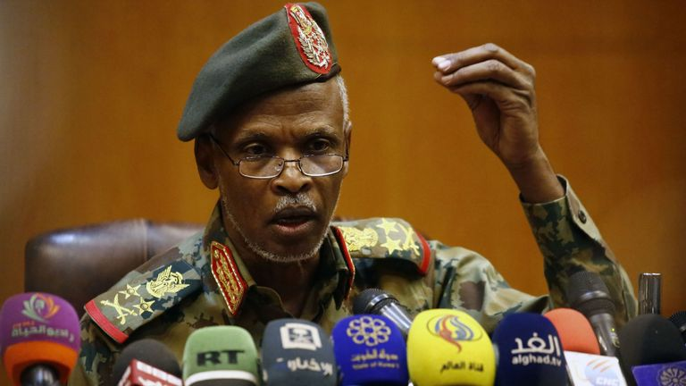 Colonel General Omar Zein Abedeen said Omar al-Bashir will not be extradited