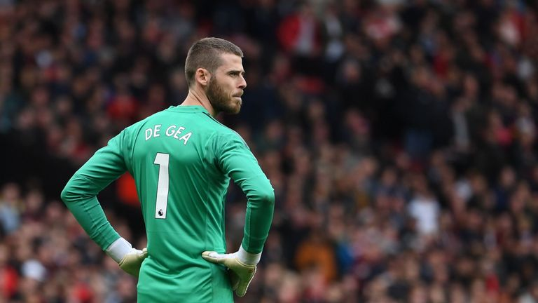 Nemanja Matic defended his Manchester United team-mate David de Gea earlier this month following a number of recent errors from the goalkeeper