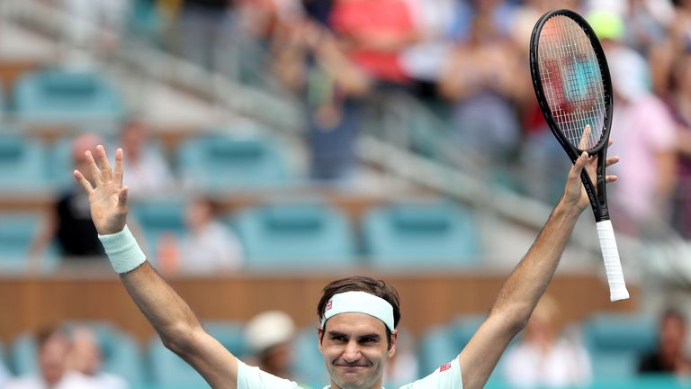 Roger Federer will carry on competing for titles as he targets Jimmy