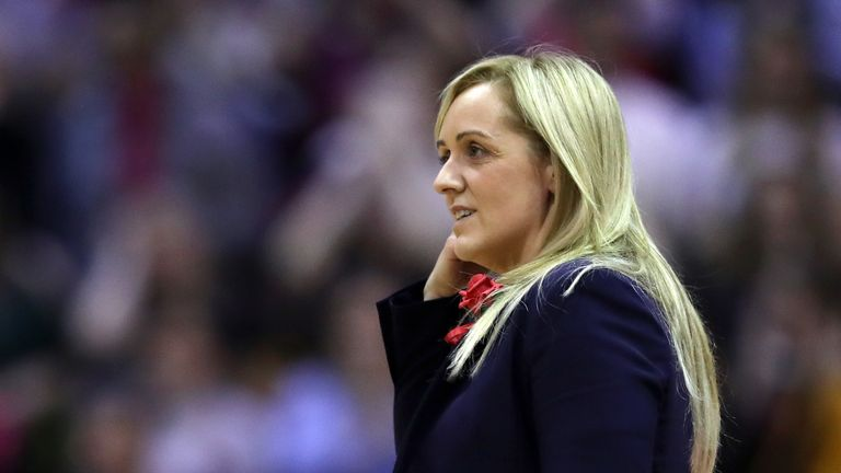 Serena Guthrie discusses Tracey Neville's departure and the squad's reaction to the new