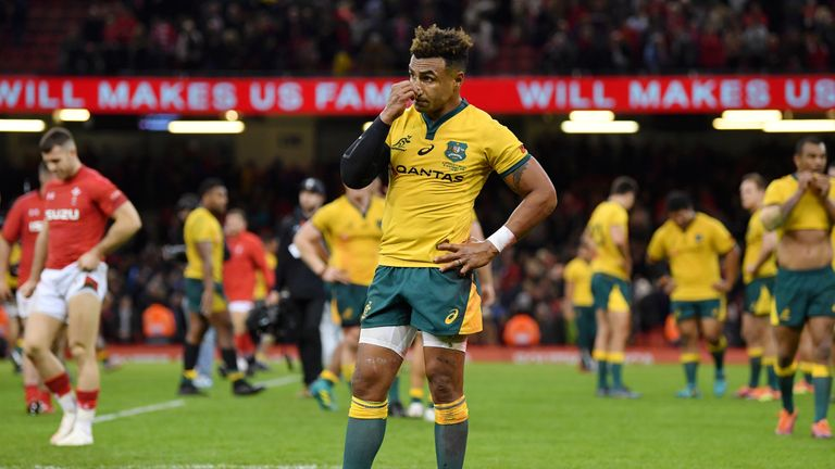 Michael Cheika embarrassed at tackle confusion in Australia's loss to Wales