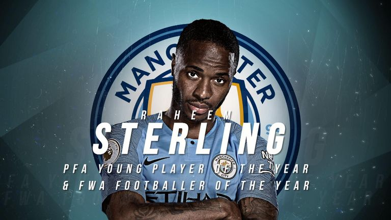 We take a look at some of Raheem Sterling's best Premier League goals this season, which has helped earn him a PFA Player of the Year nomination