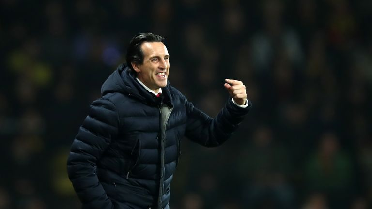Unai Emery says Champions League spot is in Arsenal's hands | Football News |