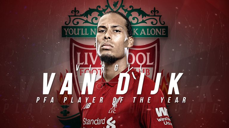 We take a look at some of Virgil van Dijk's best moments from the Premier League this season, which has helped earn him a PFA player of the year nomination.