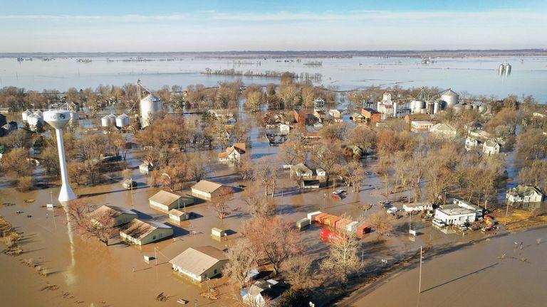 Flooding in Craig, Missouri