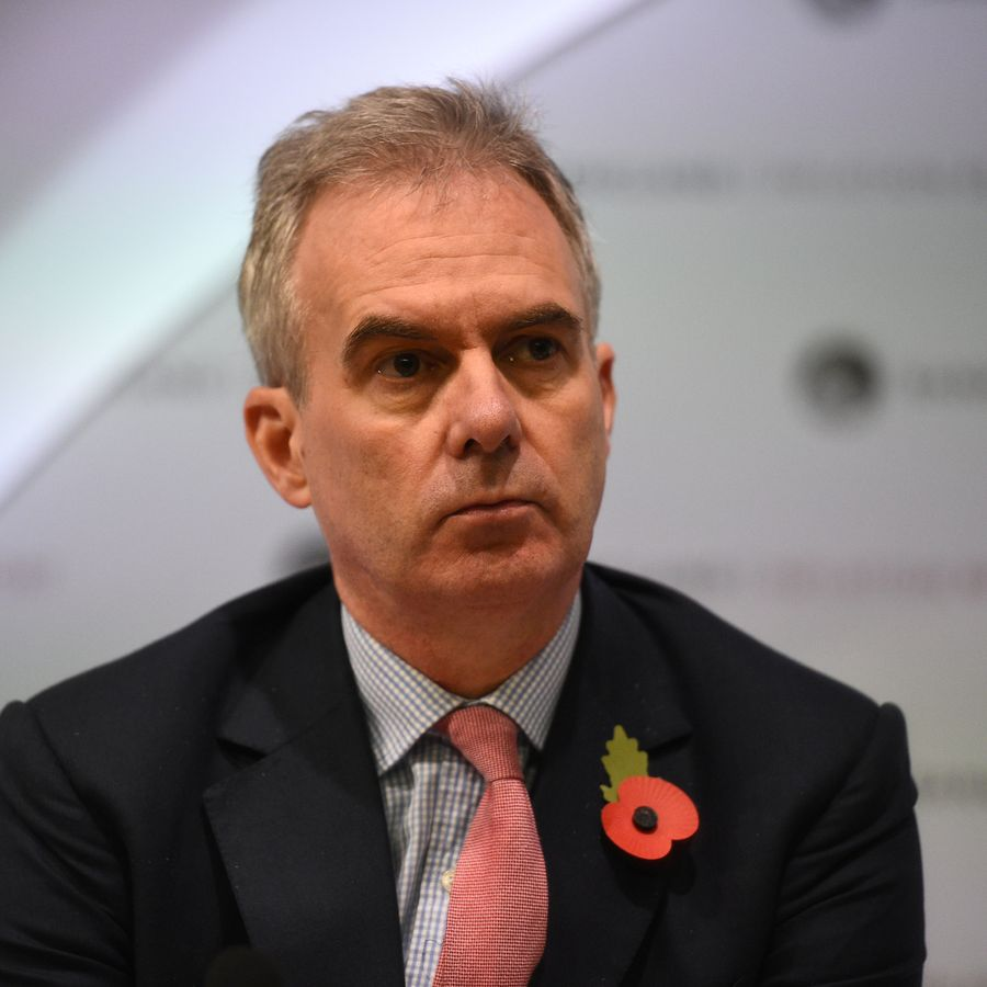 Bank of England Deputy Governor Ben Broadbent attends a Bank of England news conference, in the City of London, Britain November 1, 2018.