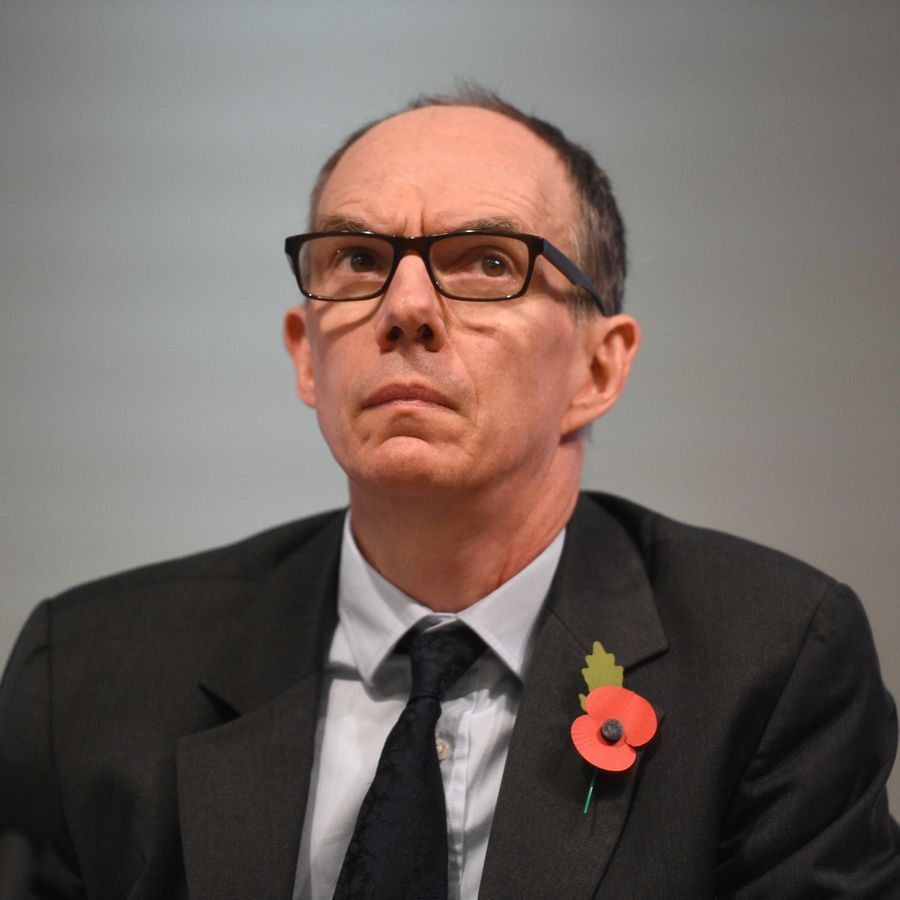 Bank of England Deputy Governor for Markets and Banking, Dave Ramsden attends a Bank of England news conference, in the City of London, Britain November 1, 2018.