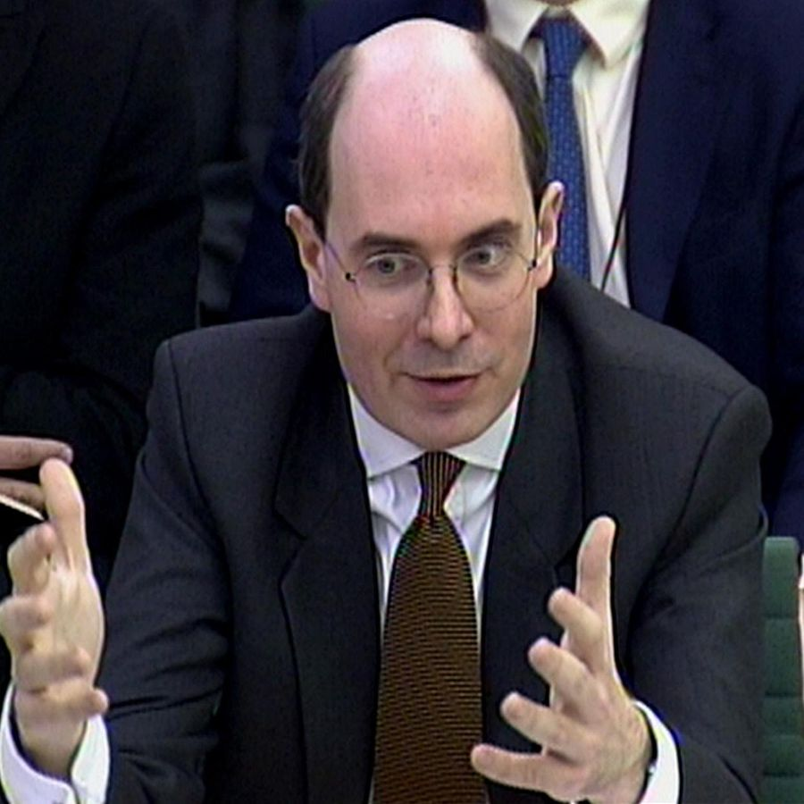 John Kingman, Chief Executive of UK Financial Investments Limited (UKFI), the company set up to manage the Government's shareholdings in banks, gives evidence at the Treasury Select Committee meeting on the Banking crisis, in central London. 3/3/2009