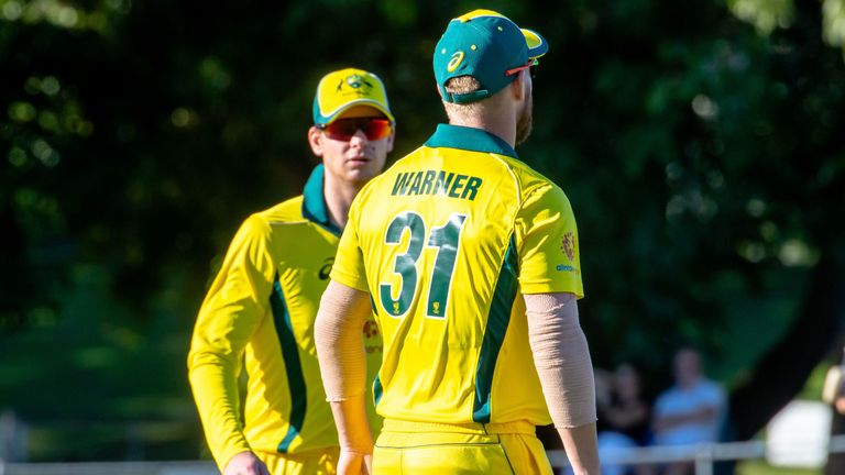 Australia coach Justin Langer says Steve Smith and David Warner are prepared for a hostile reception at the World Cup
