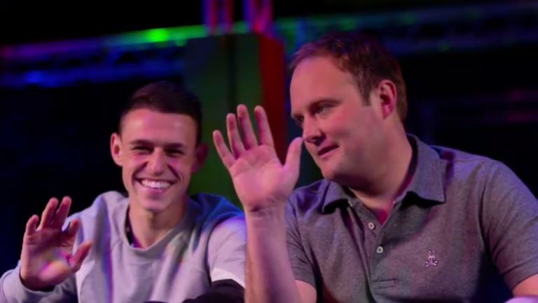 Phil Foden lifts the lid on Manchester City team-mates on Soccer AM.