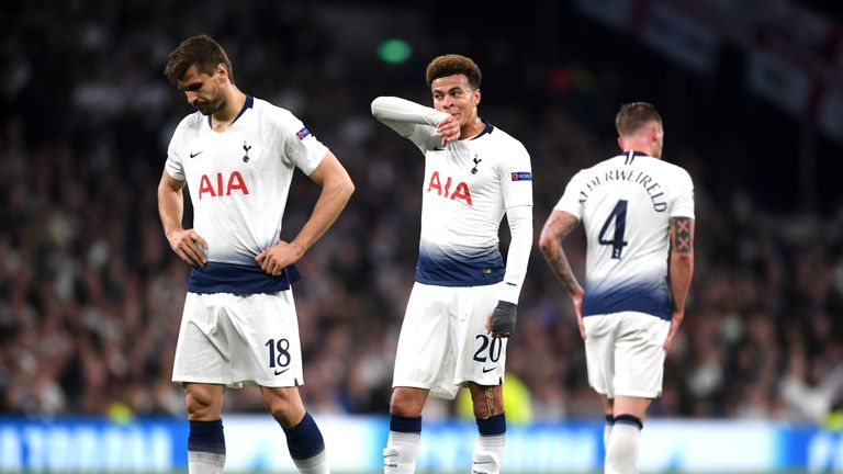 Is Tottenham's downturn in form due to the stresses of the season or bad luck? The Sunday Supplement panel give their views
