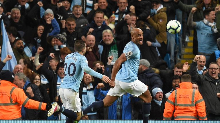 Former Manchester City striker Shaun Goater says Vincent Kompany is a man mountain, a rock, and the best captain the club could ever want