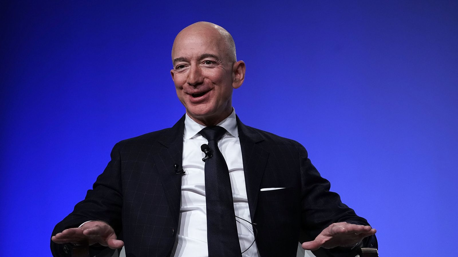 Amazon boss Jeff Bezos makes carbon neutral pledge on eve of worker protests