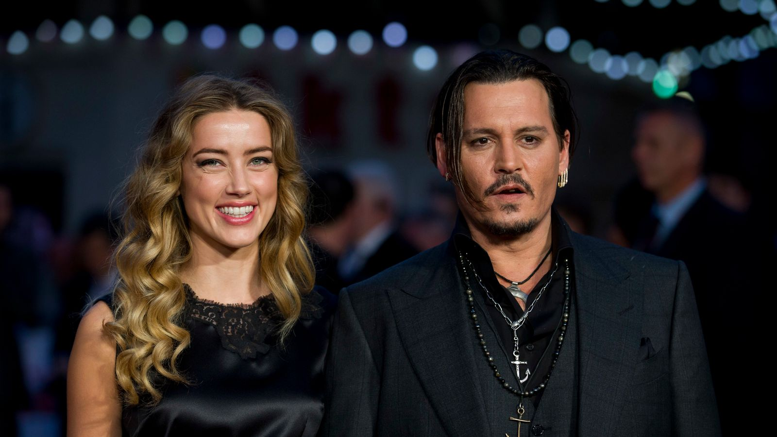 Johnny Depp accuses ex-wife Amber Heard of 'painting on ...
