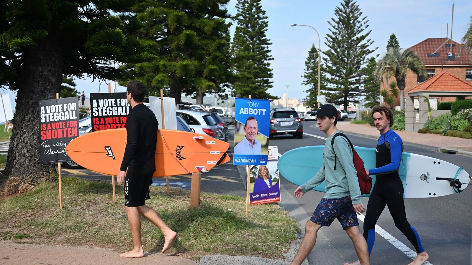Polling starts to close in Australian election