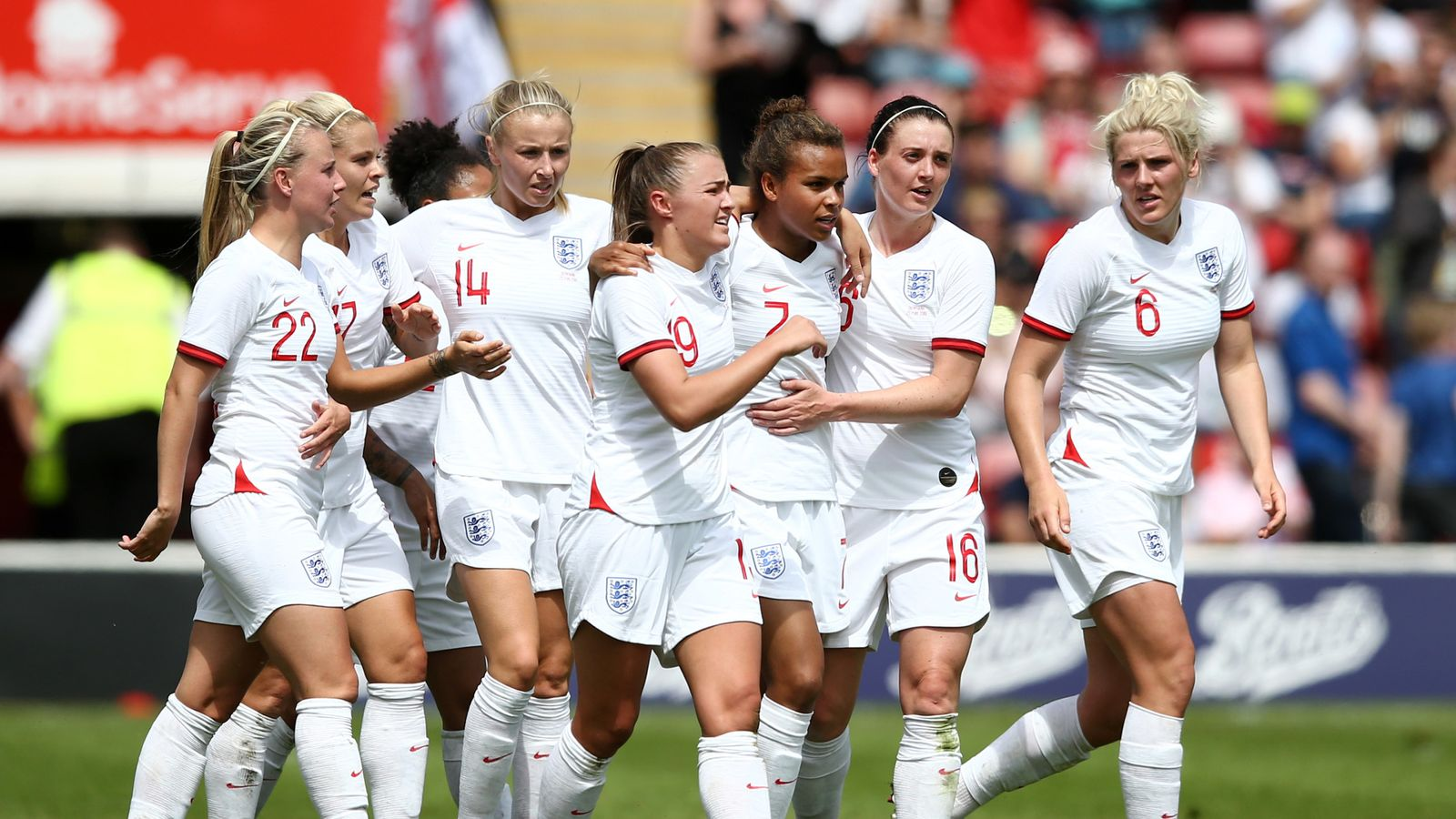 Three Lions song rewritten for Women's World Cup | Ents & Arts ...