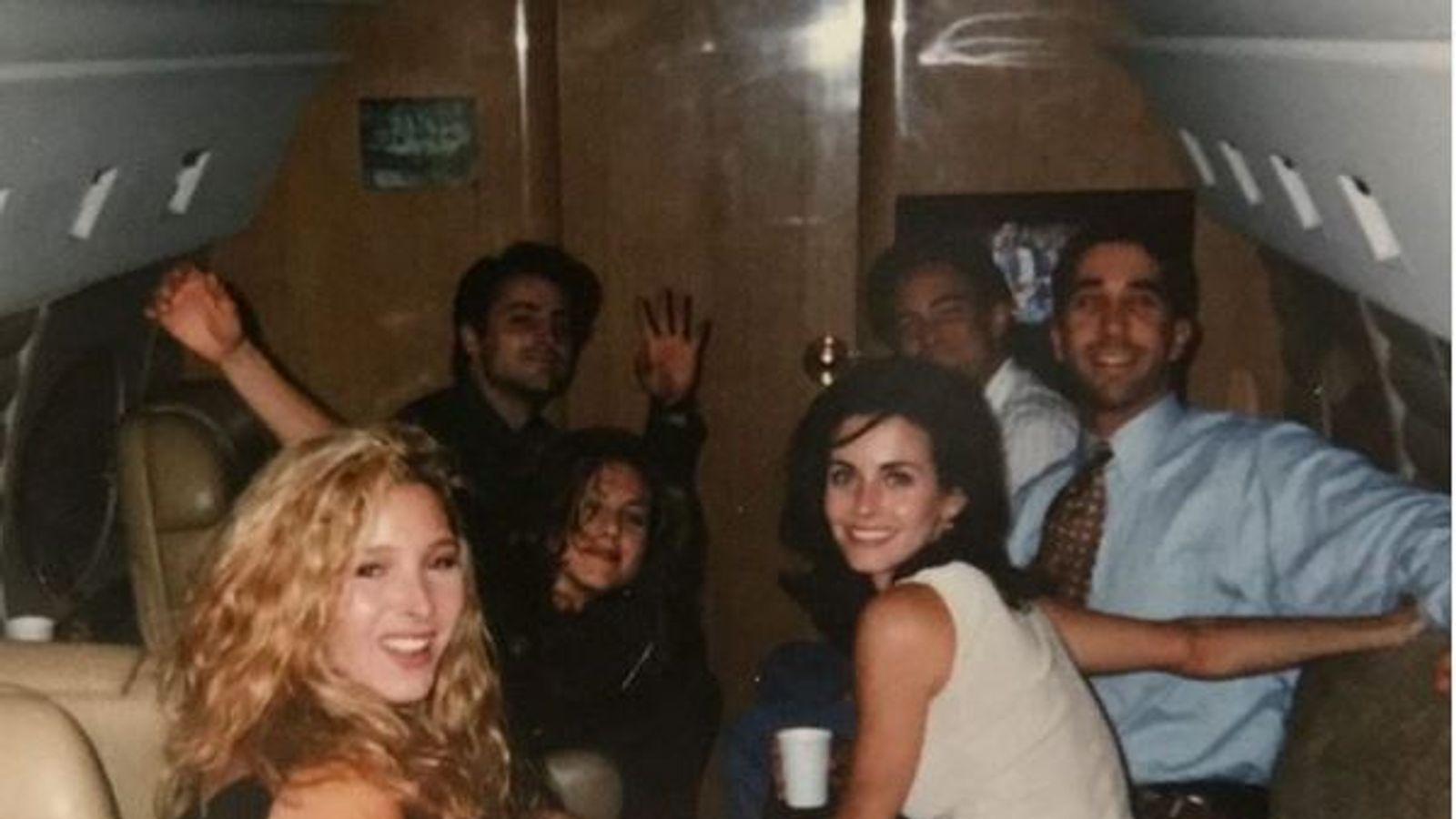 Courtney Cox shares early Friends photo from before show aired
