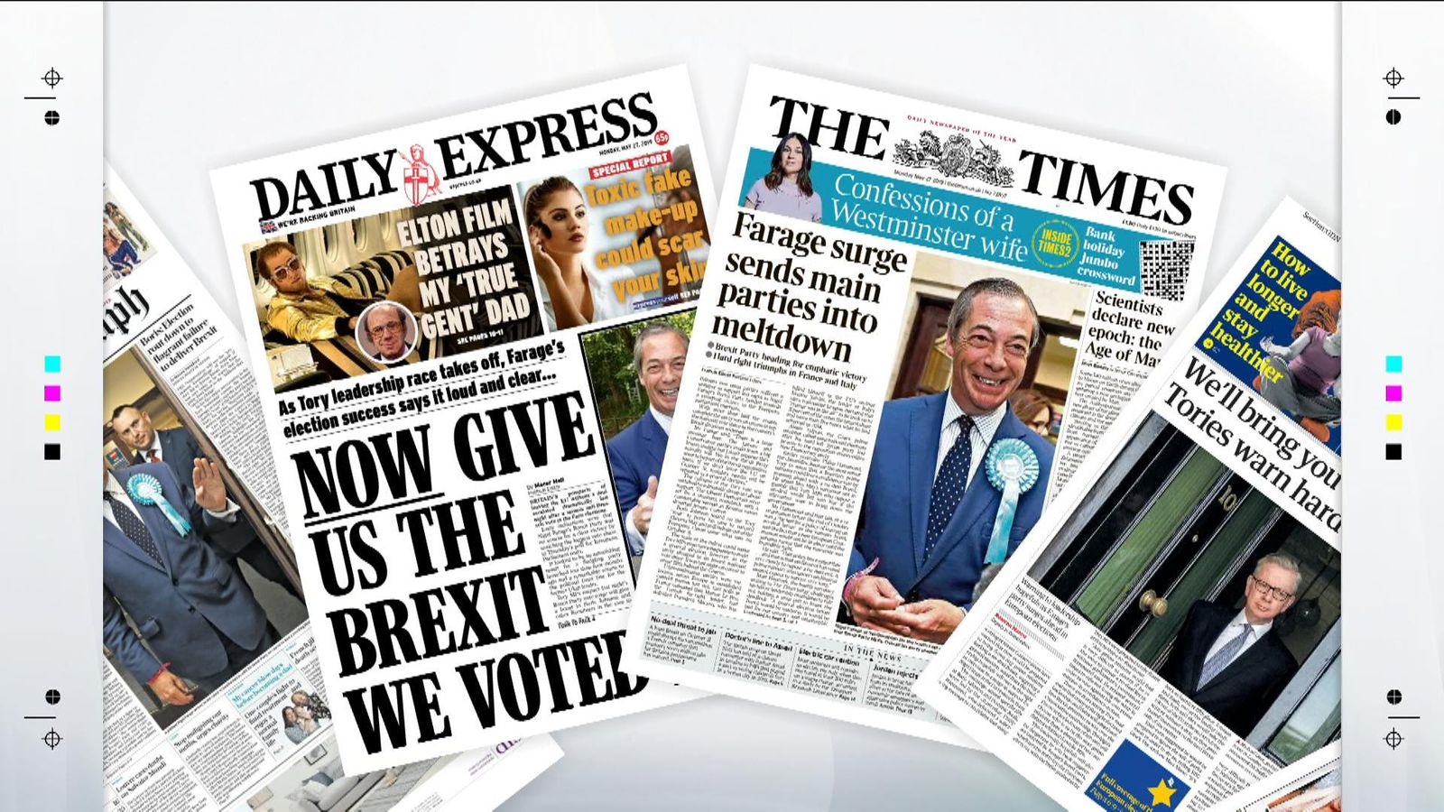 Monday's national newspaper front pages | UK News | Sky News