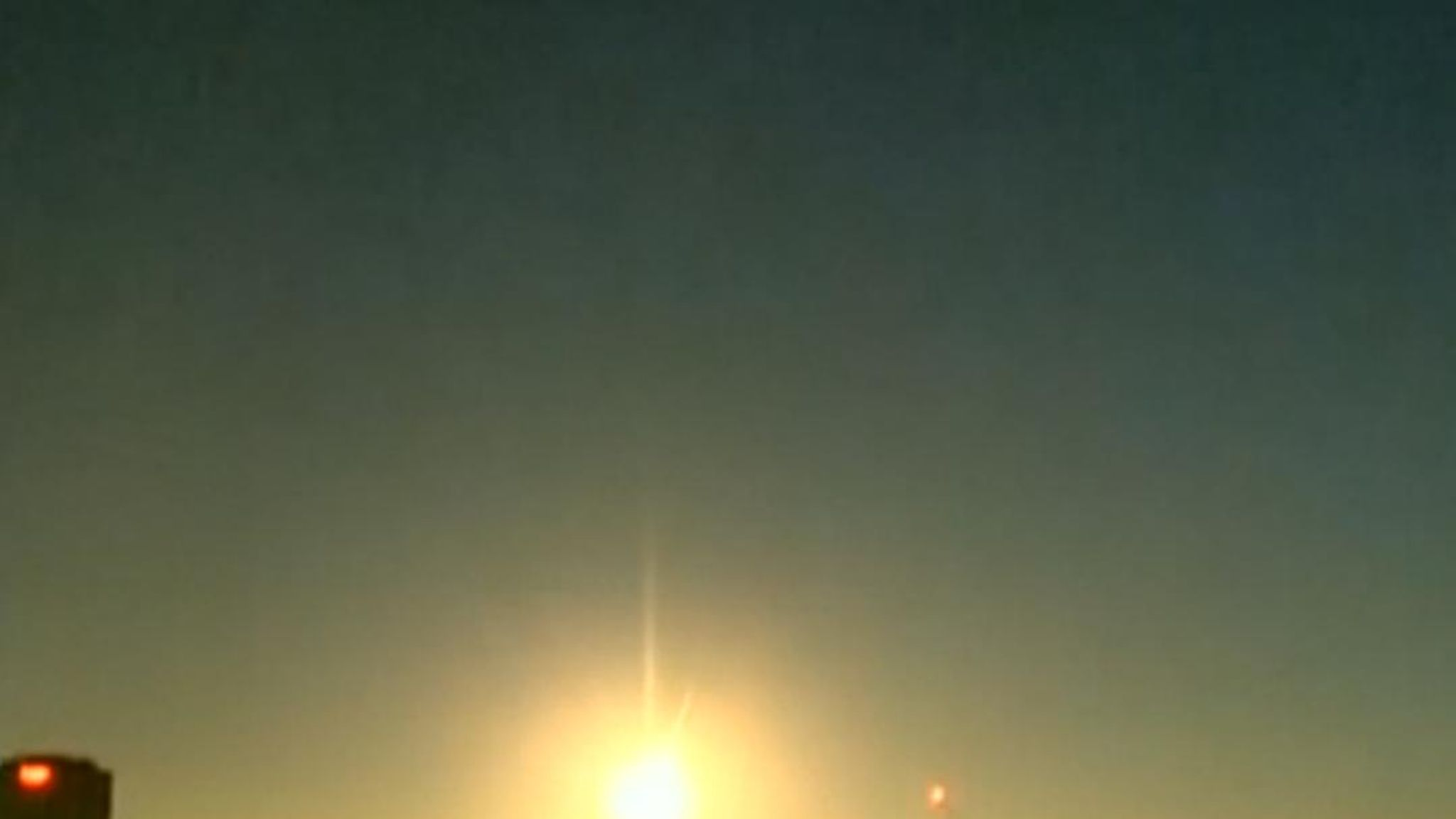 A meteor has been seen over Australia, lighting up the Sky in Adelaide and  Mount Gambier