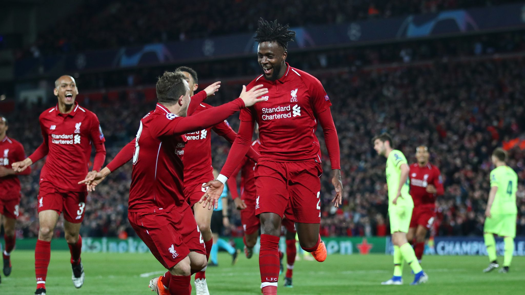 What a comeback! Liverpool score four against Barcelona to ...