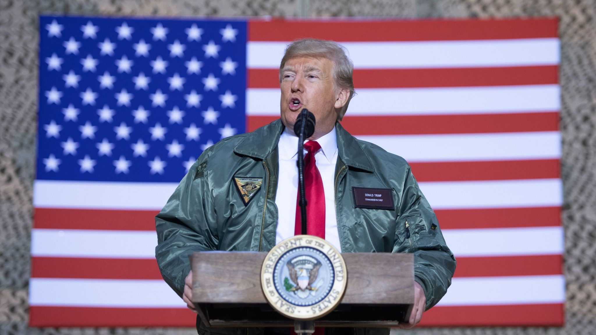 Warnings over Trump's plans to pardon war crimes suspects