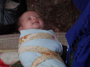 Eman Al Amotair's baby