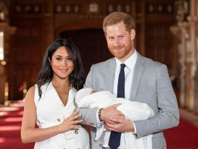 Prince Harry and Meghan's son Archie will be less than four weeks old when the president visits