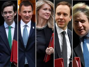 The five Tory politicians who have said they are running for the party leadership