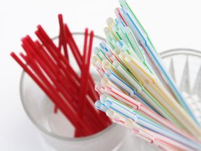 Plastic straws, stirrers and cotton buds will be banned in England from next April