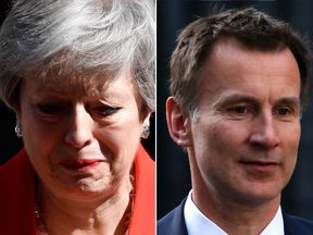 Jeremy Hunt has announced his bid to become prime minister following Theresa May's resignation