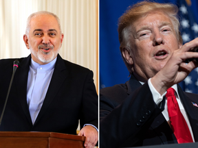 Mr Zarif and Mr Trump have used Twitter to threaten each other