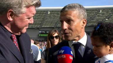 Hughton: I couldn't have asked for more
