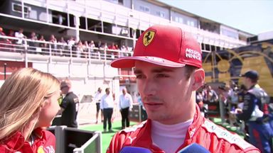 Leclerc: Ferrari were slow