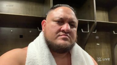 Samoa Joe gets personal towards Mysterio