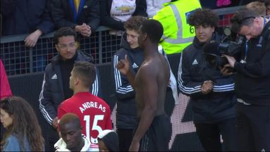 Pogba reacts to fan abuse