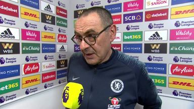 Sarri: We're tired and need a rest