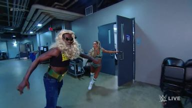 R-Truth is chased into the night