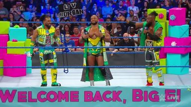 The New Day welcome back Big E