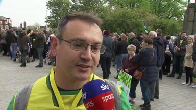 Norwich fans praise 'fearless' champions