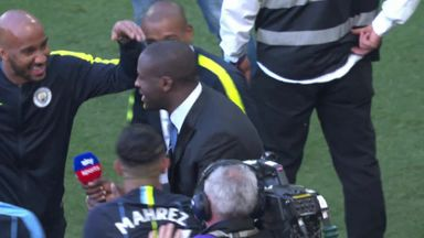 Toure joins City celebrations